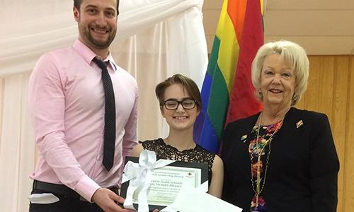 2017 Prairie South Schools Gay Straight Alliance (GSA) - Prairie South School Division, Moose Jaw SK